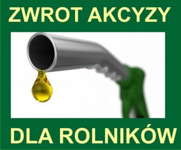 Nowe regulacje dotyczące zwrotu akcyzy zawartej w cenie oleju napędowego wykorzystywanego do produkcji rolnej