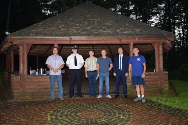 Obóz szkoleniowo - wypoczynkowy Młodzieżowych Drużyn Pożarniczych