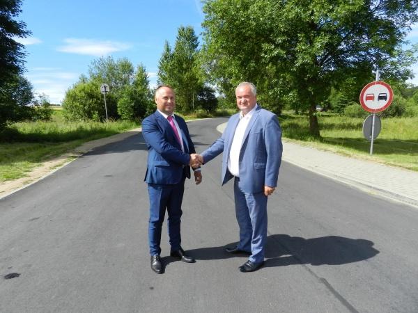 Zakończono prace przy remoncie drogi powiatowej Nr 1092B Filipów - Przerośl - granica województwa