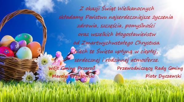 Życzenia Wielkanocne na rok 2021