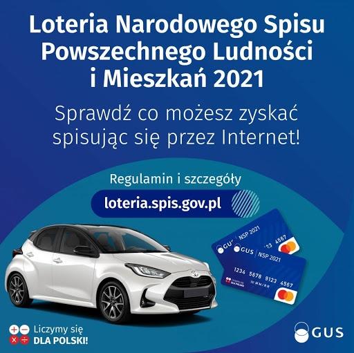 Spisz się przez Internet i wygraj samochód w Loterii NSP 2021